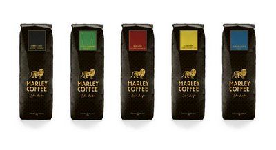 Marley Coffee labels