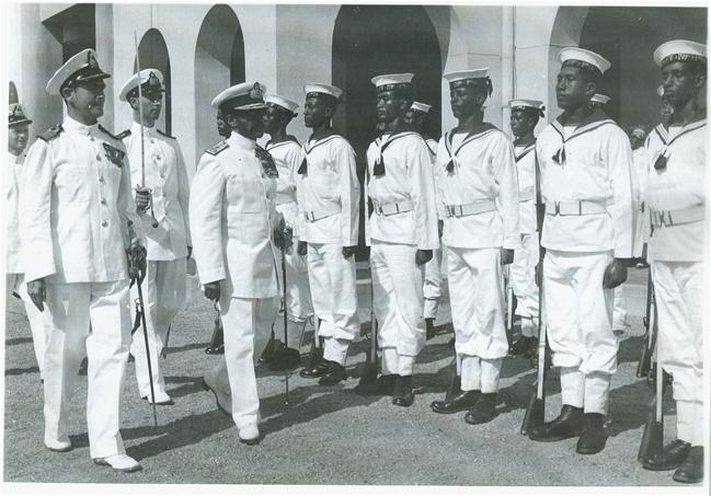 Selassie and his sailors